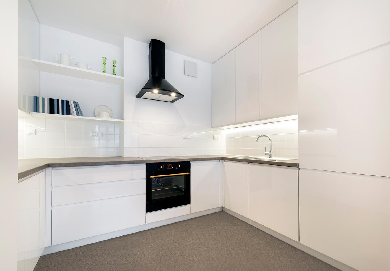 Küche - Fugenlose Steinteppiche